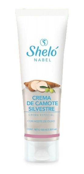 Crema De Camote Silvestre Hormonas Sheló Nabel 130g /sa