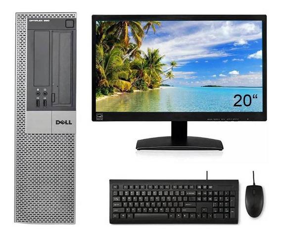 Cpu Dell Optiplex 990 I5 2ºg 8gb Ssd 120gb Wifi Monitor 20