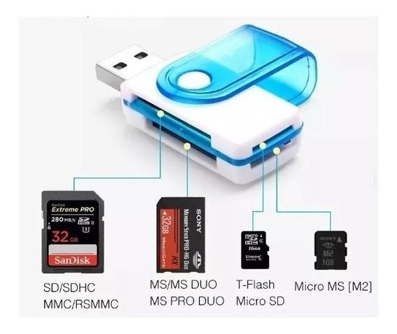 Mini Leitor De Cartão Micro Sd Use Pendrive 10pcs Oferta