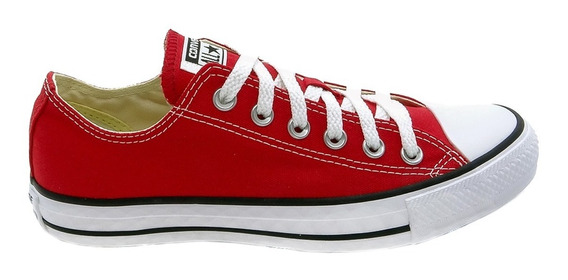 Tênis Converse All Star Ct As Core Ox Vermelho Ct0001000433