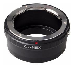 Adaptador Lentes C/y Contax Yashica P/ Camera Nex E-mount