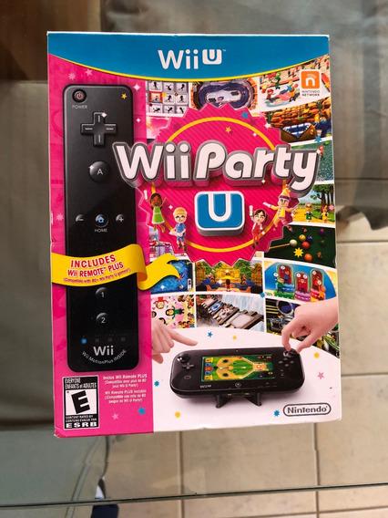Wii Party U - Wiiu - Americano E Original - Sem Controle