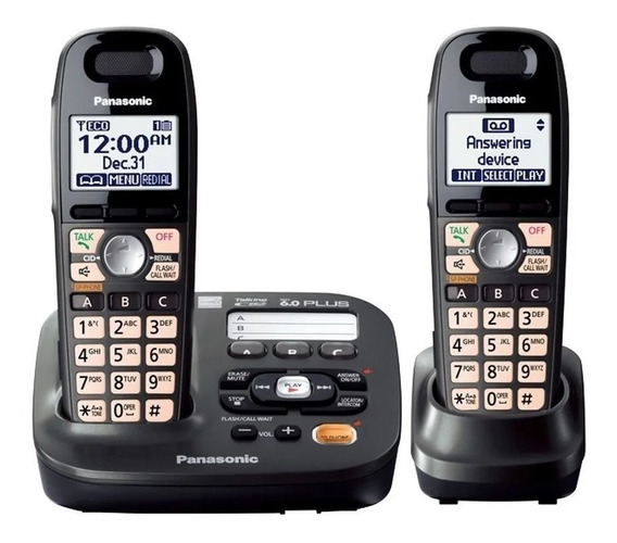 Telefono Inalambrico Panasonic Tg6592 Dect 6.0 Intercom