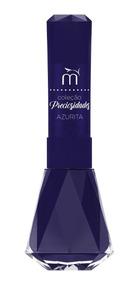 Esmalte Muriel Diamante Coleção Preciosidade Azul Escuro 8ml
