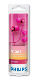 Fone Intra Auricular Original Philips She3700pk/00 - Pink