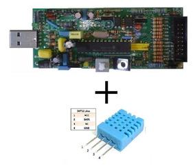 Gravador De Microcontroladores Pic E Avr + Sensor