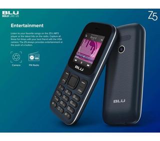 Celular Blu Z5 Z211 Dual Sim 1.8 Rádio Fm - Azul Escuro