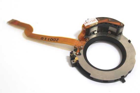 Flexivel Canon 50mm Ef 1.4 Peça Reparo Controle De Abertura