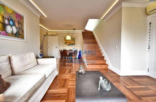 Imagem 1 de 19 de Cobertura Com 3 Dormitórios À Venda, 181 M² Por R$ 3.300.000,00 - Moema - São Paulo/sp - Co2646