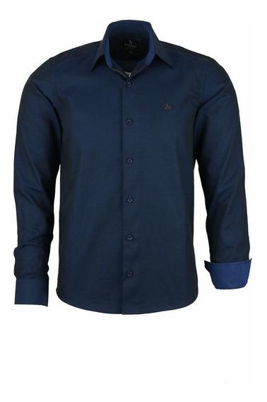 Camisa Barden Manga Longa Comfort Algodão Fio 50 Furta Cor