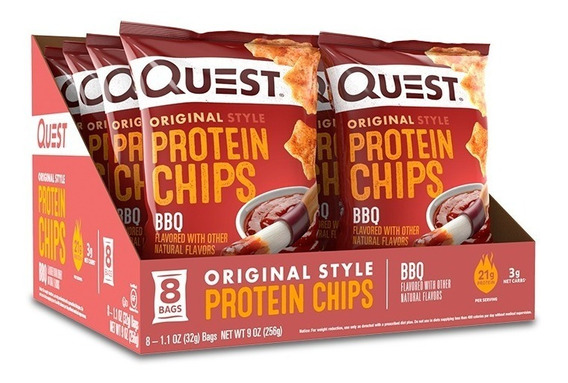 Chips De Proteína Quest Sabor Bbq