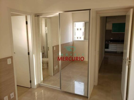Apartamento Com 2 Dormitórios Para Alugar, 68 M² Por R$ 1.700/mês - Vila Nova Cidade Universitária - Bauru/sp - Ap3391