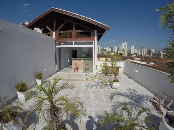 Sobrado Em Vila Caiçara, Praia Grande/sp De 300m² 4 Quartos À Venda Por R$ 790.000,00 - So138866