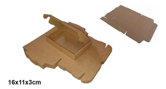 400 Caixa Papelão Correio 16x11x3 Fabricante Menor Preço.