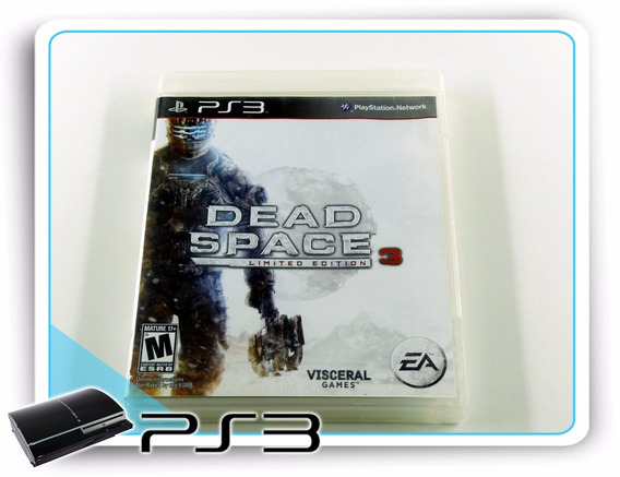 Ps3 Dead Space 3 Limited Edition Original Playstation 3