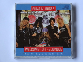 Cd Guns N Roses Welcome To The Jungle Mini Disc 3 Raríssimo