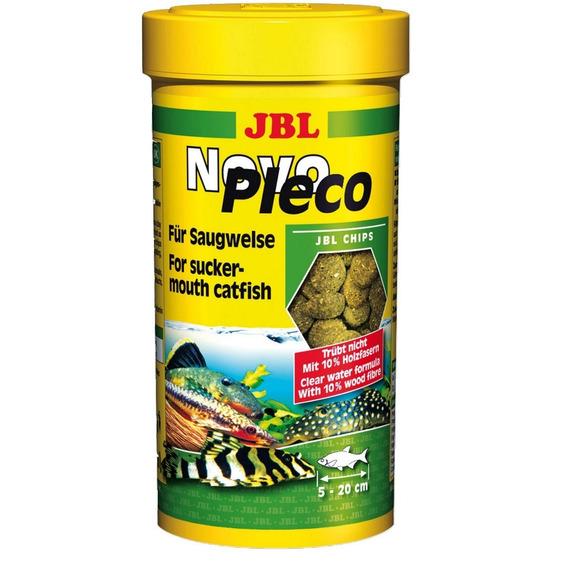 Ração Para Peixe Jbl Novopleco 530g - 1000ml