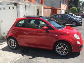Fiat 500 1.4 3p Sport 6vel Qc Piel Mt 2012