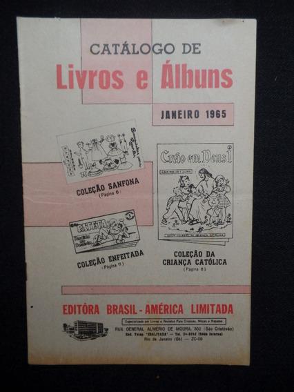 Ebal - Catálogo De Livros E Álbuns - Janeiro De 1965