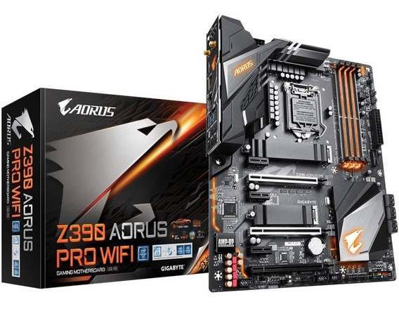 Placa Mãe Gigabyte Z390 Aorus Pro Wifi Intel 1151 Ddr4 Atx