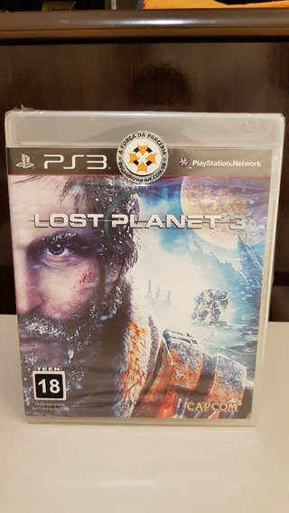Lost Planet 3 Ps3 Playstation 3 Novo Lacrado Física