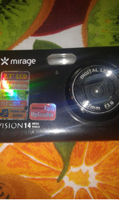 Camera Digital Mirage 14megapixeus 4gb De Memoria