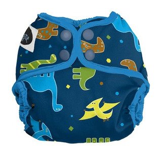 Imagine Baby Products Recien Nacido Snap Diaper Cover Rawr