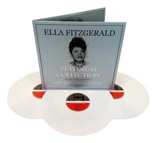 Ella Fitzgerald Lp Triplo Branco Platinum Collection Lacrado