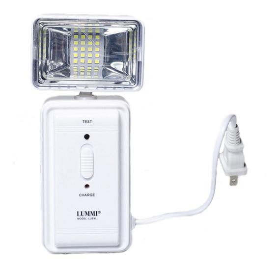 Lampara De Emergencia Lue4l Uso Interior 127v Blanco Lummi