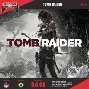 Tomb Raider Português Ps3 - Codigo Psn - Envio Imediato