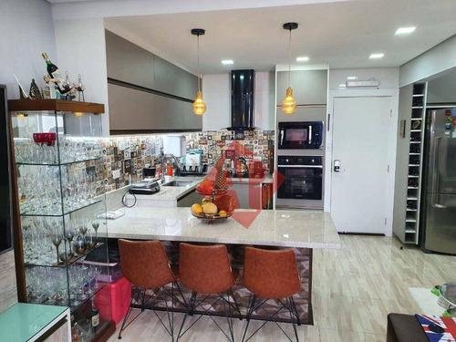 Imagem 1 de 15 de Apartamento Com 1 Dormitório À Venda, 55 M² Por R$ 480.000,00 - Alphaville - Barueri/sp - Ap1081