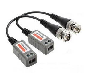 Kit 30 Pares Video Balun 4x1 Ahd/hdcvi/hdtvi/cvbs Borne
