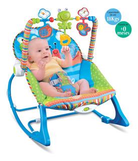 Cadeira De Descanso Musical Funtime Maxi Baby Vibratória