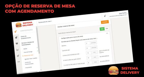 Aplicativo Pedidos Online Sem Custo Mensal