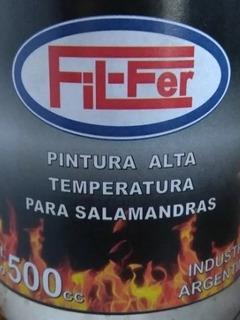 Pintura Especial Para Temperatura Para Salamandras Y Cocinas