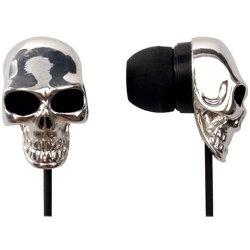 Fone De Ouvido Skull Mini Prata 607722 Maxprint