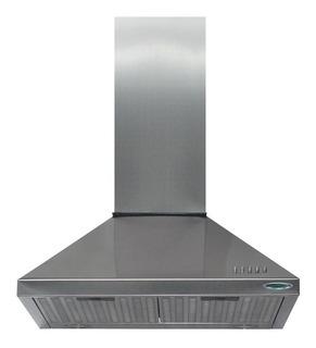 Campana Cocina Cucinela Acero 60 Cm Motor Luz Led 1 Velocidad