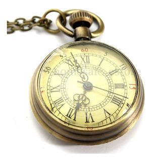Reloj De Bolsillo Pocket Estilo Vintage Retro Fotos