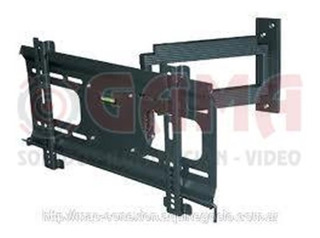 Soporte Lcd Plasma Pared 23 A 42 35kg. Doble Brazo Lcd803 To
