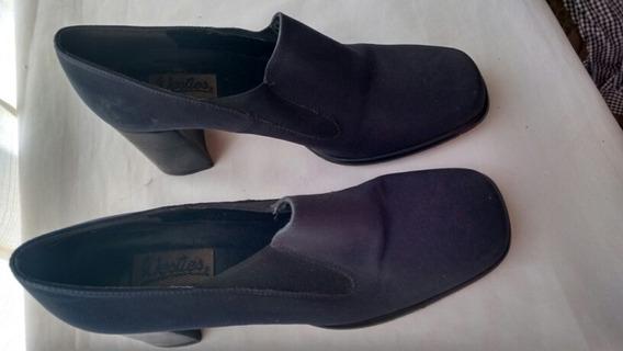 Zapatos Para Dama Weties Azul Talla 4.5 80%nuevos