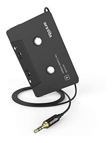 Imagen 1 de 7 de Arsvita - Adaptador De Audio De Cassette A Auxiliar P
