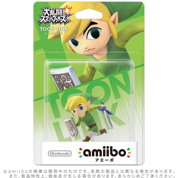 Amiibo Toon Link Super Smash Bros - Switch 3ds Wii U