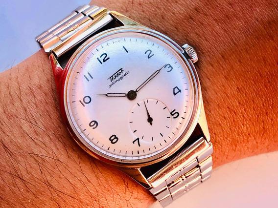 Relógio De Pulso Suíço Tissot Calibre 27-3 Déc 1940 À Corda