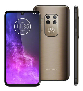 Celular Motorola Moto One Zoom Xt2010 Dual 128gb Bronze