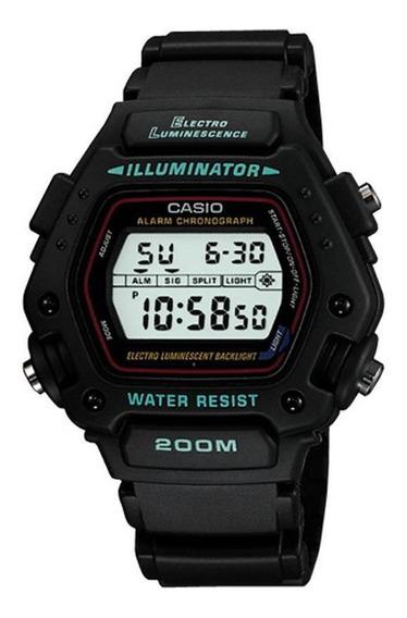 Relógio Masculino Casio Iluminator Dw-290-1vs