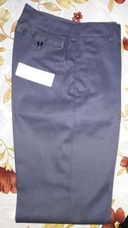 Pantalon Gris Escolar/laboral Mujer Invierno Talle 38 Nuevo