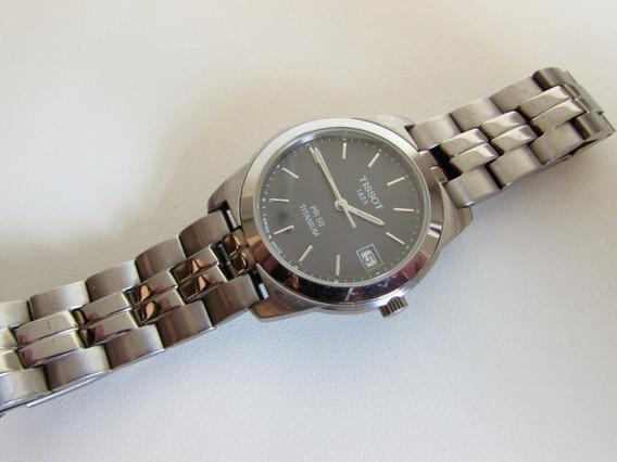 Relógio Tissot Titanium Pr50 Safira- Seiko Victorinox Bulova
