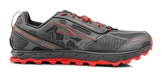 Zapatillas Altra Lone Peak 4 Red - Stock Inmediato -