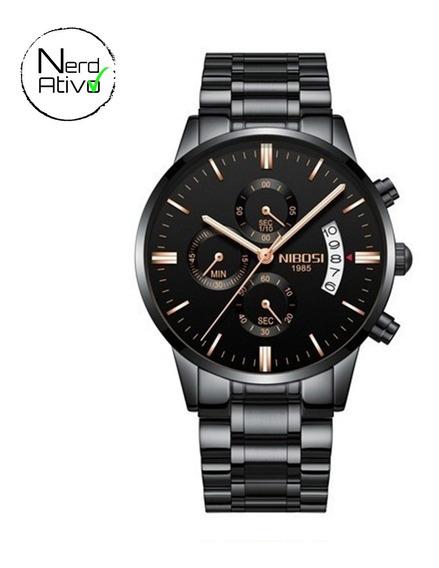 Relógio Nibosi: Cronógrafo Original 2309 - Frete Grátis #na