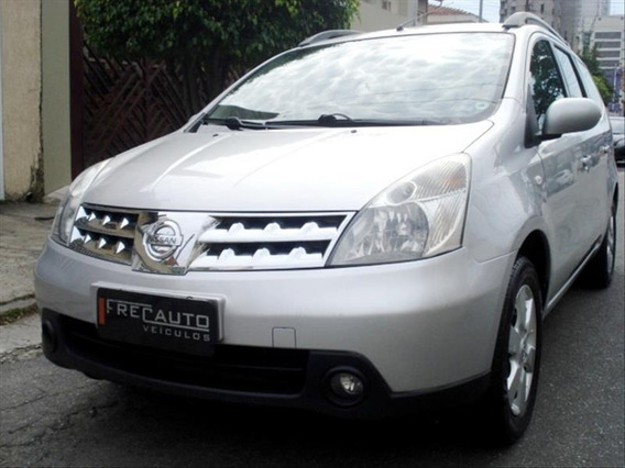 Nissan Grand Livina 1.8 Sl 16v Flex 4p Automatico